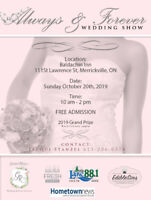 5th Annual Always & forever Wedding Show now accepting vendors