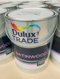 Dulux Trade Satinwood Pure Brilliant White Paint