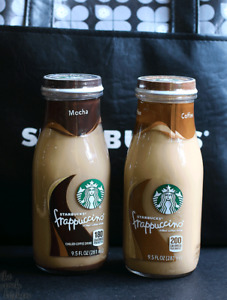 Starbucks frappuccino glass bottles will pay