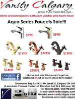 Clearance / Warehouse Marked-Down SALE - Vanity Faucets $79