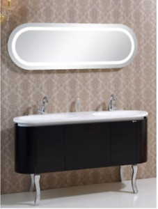 "Sale on Now! Save on the Stylish Davian 58""w Double Sink Vanity."