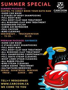 Professional car detailing & wash
