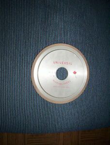 "Universal 6"" diamond grinding wheel 1.25"" center hole"