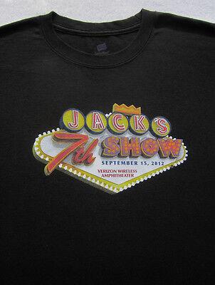 JACK'S 7th SHOW 2012 concert LARGE T-SHIRT joe walsh pat benatar toto mc hammer (Mc Hammer Jacke)