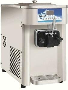USED Single Flavor 12L/H Soft Ice Cream machine Frozen Yogurt Machine210073
