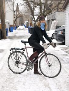 Vintage winter bike wheels 27 1/4,Roue cyclocross 27 1/4