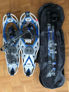 Yukon Charlie, Snowmountain and Poweridge snowshoes sets - NEW