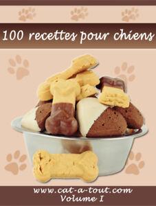 SUPER LIVRE de 100 recettes maison pour chien