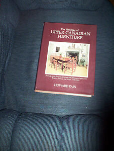 The Heritage of Upper Canadian Furniture HC Howard Pain
