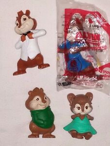Alvin and the Chipmunks Junior Novel Book & 4 Toys (Lot #5) London Ontario image 2