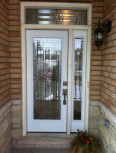 INSTALL DOOR GLASS INSERTS DECORATIVE & WROUGHT IRON