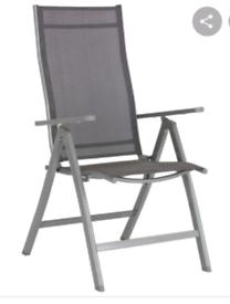 Brand new 4 grey garden chairs