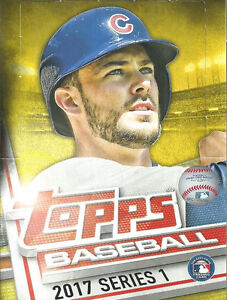 2017 Topps Series 1 Baseball Card Set - Sports Cards