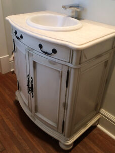 Bathroom Vanity with Faucet