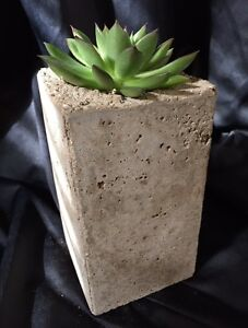 Rustic hand crafted hypertufa centerpieces - HYPER ACCENTS