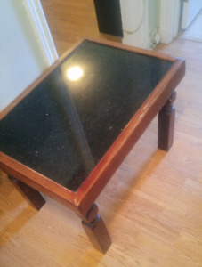 Granite coffee tables - custom made