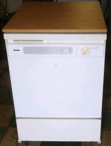 Kenmore portable dishwasher works great