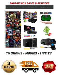 Elite Android Boxes (Bedford)