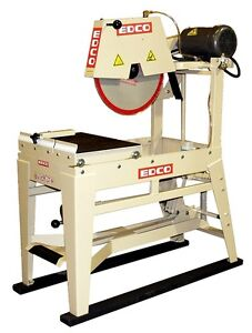 Brand New EDCO 21300 20-Inch 7.5 HP Electric Masonry Saw