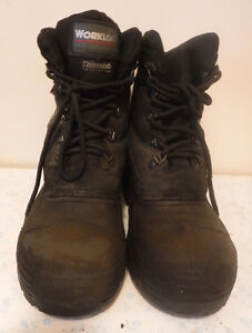 """Work Boots - Size 13 - """"Workload"""" Steel Toe"""