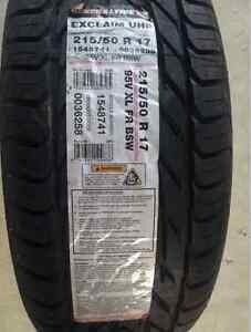 NEW GENERAL EXCLAIM 215/50R17 TIRE