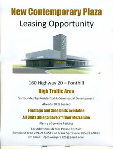 Lease Opportunity