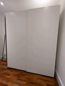 IKEA Pax Wardrobe 236CM Tall, White