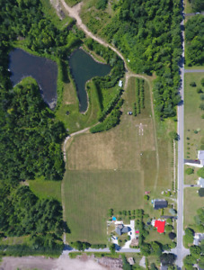 Fermette 104 acres a Hemmingford