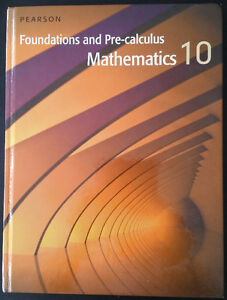 Foundation of Maths and Pre-Calculus 10