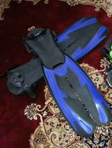 Long swimming fins swimming flippers for swimming & diving