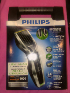 Philips Lithium Ion Hair Clipper Series 7000