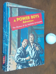 A Power Boys Adventure Mystery of the Haunted Skycraper 1964