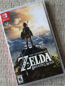 Zelda Breath of the Wild, Switch