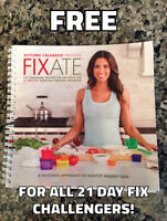 Free Fixate Cookbook with purchase of 21 Day Fix