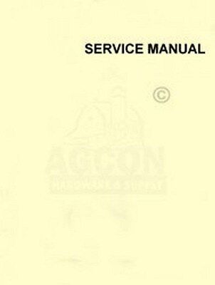 International 27 Baler Overhaul Field Service Manual