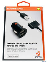 Griffin PowerJolt Dual Micro Universal Charger for iPhone/iPod 4