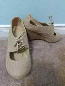Call it spring Oxford wedges