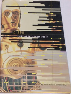 Star Wars Masterpiece Edition C-3PO Tales of the Gold Droid Book
