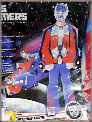 Tranformers Optimus Prime LKW Gr.L Truck Umwandlung Kostüm Roboter Autobot Party