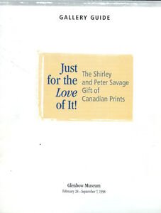 CANADIAN ART SHIRLEY PETE SAVAGE PRINT COLLECTORS GLENBOW