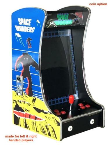 🔥 Upright Bartop Tabletop Cocktail Arcade Machine 412 Classic Games Coin Option