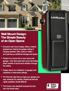 We Now Ship by UPS! New LiftMaster 8500 Elite Series Openers
