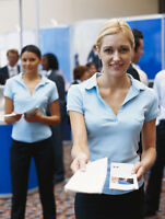 Promo staff required for tradeshow