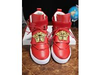 Versace red shoes