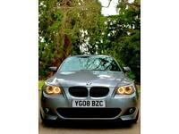 FULLY LOADED - 2008 BMW 530D 3.0 LCI M SPORT TOURING ESTATE - TOWBAR PACK / 535D