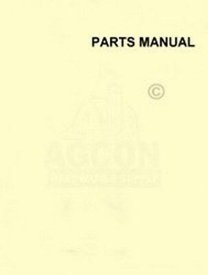 John Deere Planter Harrow Seeder 22-b 22b Parts Manual