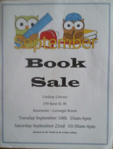 Lindsay Library book sale