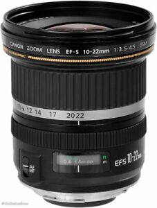 Canon wide angle lens 10-22mm sale/trade