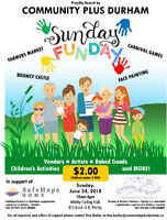 Please Join US for our Sunday Fun-Day Event Sunday June 24,2018