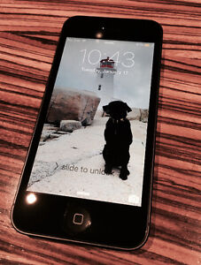 iPhone 5 64GB *unlocked* with charger & new battery